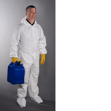 Posiwear Coveralls w/ Hood Boots & Elastic (5 SAMPLE PACK)  pic 2