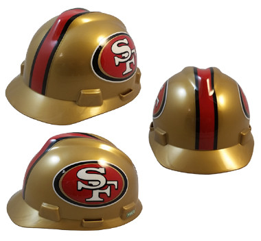 San Francisco 49ers Hard Hats