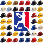 All NBA Hard Hats