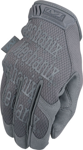 Mechanix Original Glove Wolf Grey Color -  Back Side View