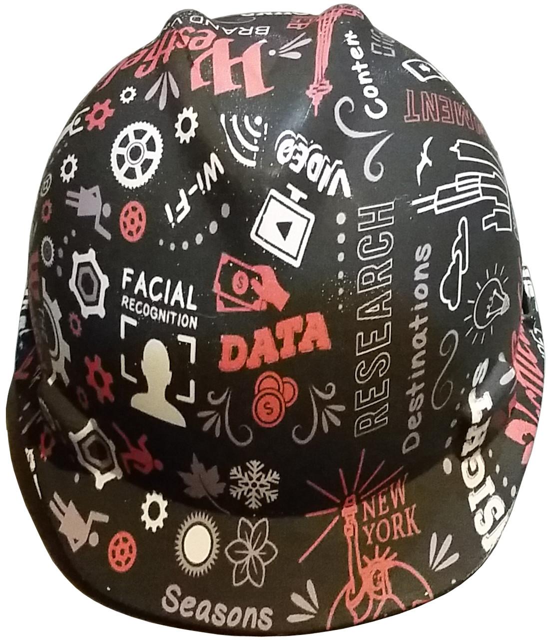 Customizable Cap-Style Hard Hat
