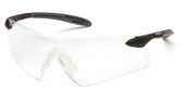 Pyramex Intrepid II Safety Glasses ~ Clear Lens oblique view