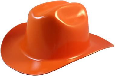 Outlaw Cowboy Hardhat with Ratchet Suspension Orange pic Oblique