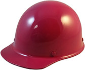 MSA Skullgard Cap Style With STAZ ON Suspension Raspberry - Oblique View