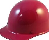 MSA Skullgard  (LARGE SHELL) Cap Style Hard Hats with Ratchet Suspension - Raspberry