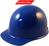 MSA Skullgard  (LARGE SHELL) Cap Style Hard Hats with Ratchet Suspension - Blue  - Oblique View