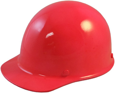 Skullgard Cap Style With Ratchet Suspension Neon Pink - Oblique View