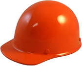 Skullgard Cap Style With Ratchet Suspension Orange - Oblique View