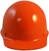 MSA Skullgard Cap Style With STAZ ON Suspension Orange - Front View