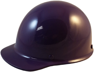 MSA Skullgard Cap Style With STAZ ON Suspension Purple - Oblique View