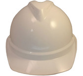 MSA Advance White Vented Hard Hats with Staz On Suspensions pic 1