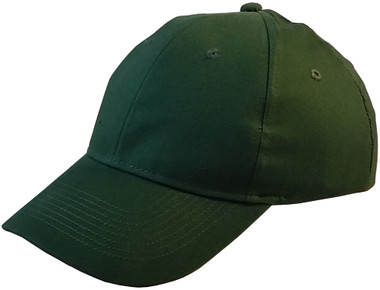 ERB Soft Cap (Cap and Insert) Dark Green - Oblique View