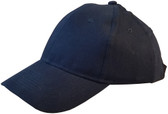 ERB Soft Bump Cap (Cap and Insert) - Navy Blue - Oblique View