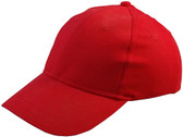 ERB Soft Bump Cap (Cap and Insert) - Red - Oblique View
