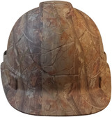Pyramex Ridgeline Cap Style Hard Hat with Camouflage Pattern - Front View