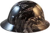 Covert USA Flag Hydro Dipped Hard Hats Full Brim Style - Right Side View
