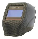 Jackson Carbon Fibre Welding Hoods with Nexgen Lens front