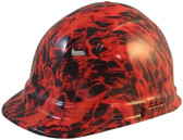 Dante's Inferno Hydro Dipped Hard Hats Cap Style - Oblique View