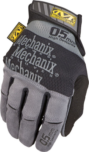 Mechanix 0.5 New Original Glove (Black/Gray) - Back View