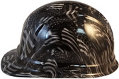 Covert USA Cap Style Hydro Dipped Hard Hats - Left Side View