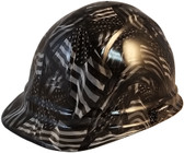 Covert USA Cap Style Hydro Dipped Hard Hats - Oblique View