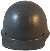 MSA Skullgard Cap Style With STAZ ON Suspension Textured GUNMETAL - Front View