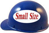 Skullgard Cap Style With STAZ ON Suspension Blue - Left Side View