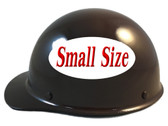 MSA Skullgard (SMALL SIZE) Cap Style Hard Hats with Ratchet Suspension - Brown