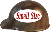 MSA Skullgard (SMALL SIZE) Cap Style Hard Hats with Ratchet Suspension - Textured CAMO - Left Side View