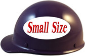 MSA Skullgard (SMALL SIZE) Cap Style Hard Hats with Ratchet Suspension - Purple - Left Side View