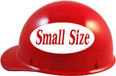 MSA Skullgard (SMALL SIZE) Cap Style Hard Hats with Ratchet Suspension - Red - Left Side View