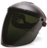 Pyramex IR5 Dark Green Tapered Faceshields