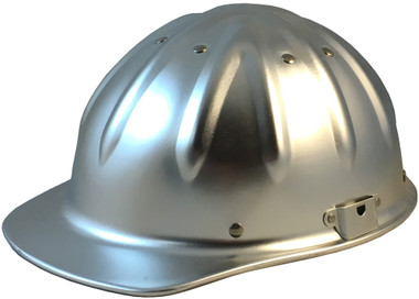 Aluminum Cap Style Hard Hats with Ratchet Suspensions