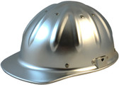 Aluminum Cap Style Hard Hats with Ratchet Suspensions