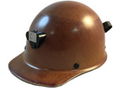 MSA Skullgard Cap Style With STAZ ON Suspension Natural Tan ~ Oblique View