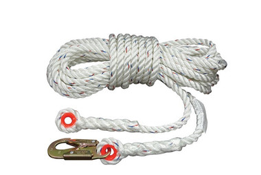 "Elk River™ Construction Plus™ Series 3-Strand 5/8"" Rope Lifelines 50 feet long"