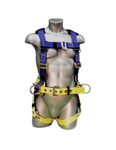 Elk River WorkMaster© Harness 3 D-Rings - Front View