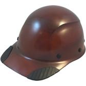 DAX Fiberglass Composite Hard Hat - Cap Style Natural Tan - Oblique View