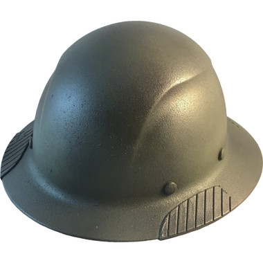 DAX Fiberglass Composite Hard Hat - Full Brim Textured Camo - Oblique View