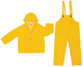 MCR 3 piece Industrial Rain suit 35mil Size Medium
