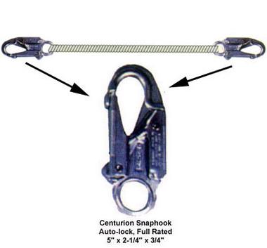"""Elk River 1/2"""" x 4' Centurion Rope Lanyard Pic1"""
