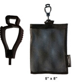 Glove Guard Bag 5 inch x 8 inch Black Pic 1