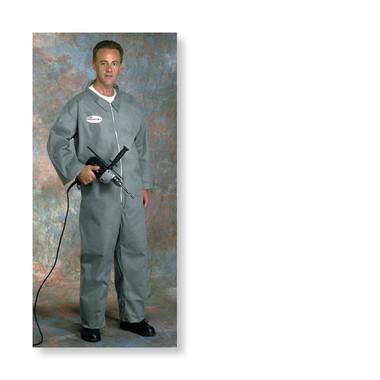 Posiwear 3 Standard Coveralls GRAY w/ Zipper Collar   pic 1