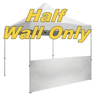 Unimprinted Blank Event Tent Half Wall