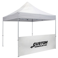 Custom Thermal Imprint Event Tent Half Wall