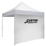 Custom Thermal Printed Full Tent Side Wall