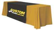 Custom Printed Logo Table Runner