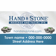 Hand & Stone 5ft x 3ft Vinyl Banner