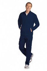 Mobb Men's Fleece Warm-Up Zipper Jacket Sku:WJF365