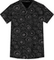 100% COTTON CROSSOVER TOP Front view Stone Melody